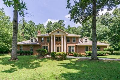 Alpharetta Single Family Home For Sale: 385 Five Acre Road
