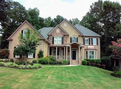 Marietta Single Family Home For Sale: 4781 Old Timber Ridge Road NE
