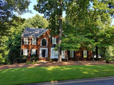 Kennesaw Single Family Home For Sale: 3928 Halisport Drive NW