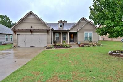 Cumming Single Family Home For Sale: 3880 Spring Ridge Drive