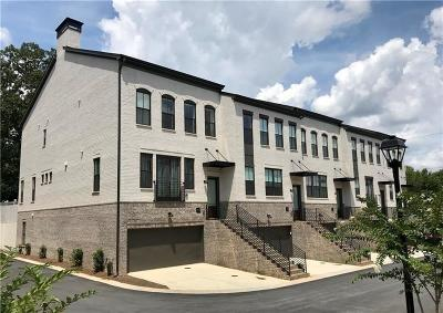 Atlanta Condo/Townhouse For Sale: 1388 La France Street NE #12