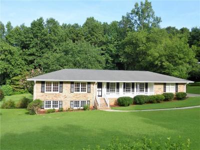 Smyrna Single Family Home For Sale: 4114 N Cooper Lake Road SE