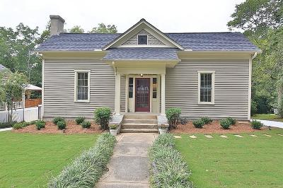 Acworth Single Family Home For Sale: 4535 Dallas Street