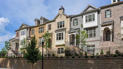 Chamblee Condo/Townhouse For Sale: 4164 Butler Drive #92