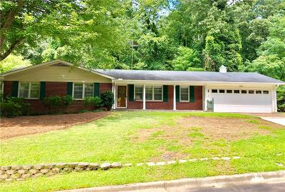 Single Family Home For Sale: 1061 Chestatee Road