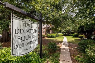 Decatur Condo/Townhouse For Sale: 1177 Church Street #F