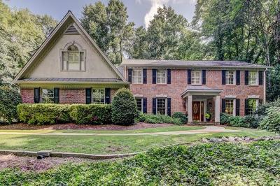 Sandy Springs Single Family Home For Sale: 6145 River Chase Circle