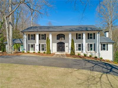 Sandy Springs Single Family Home For Sale: 260 Tamer Lane