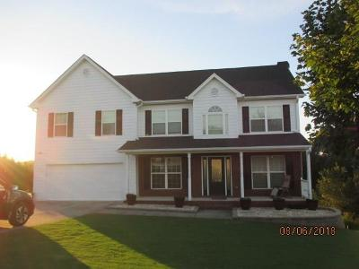 Winder Single Family Home For Sale: 812 Coosawilla Way