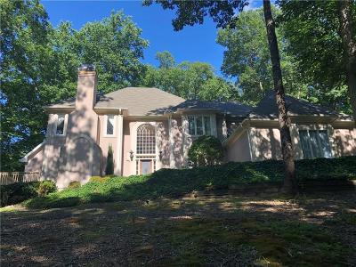 Roswell Single Family Home For Sale: 625 Danas Ridge Drive