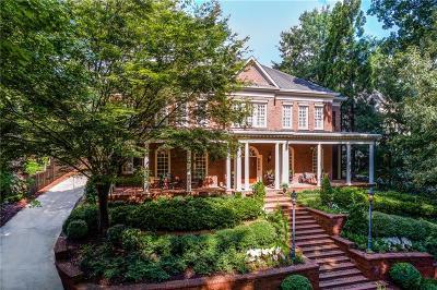 Atlanta GA Single Family Home For Sale: $2,175,000