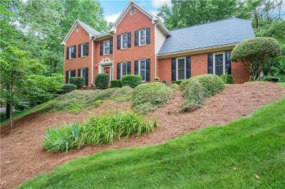 Single Family Home For Sale: 2145 Habersham Trace