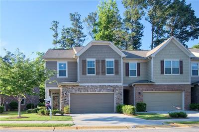 Brookhaven Condo/Townhouse For Sale: 1596 Lenox Overlook Road