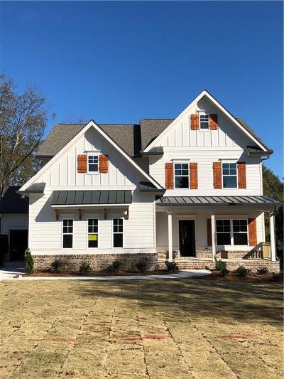 Loganville Single Family Home For Sale: 3326 Oak Grove Road