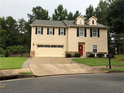 Single Family Home For Sale: 6100 Chastain Way