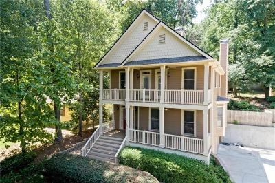 Atlanta Single Family Home For Sale: 2580 Defoors Ferry Road NW