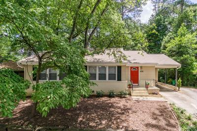Decatur Single Family Home For Sale: 1475 Clairmont Road