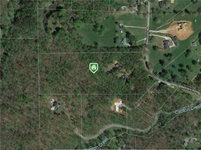 Canton Land/Farm For Sale: 611 Beavers Road