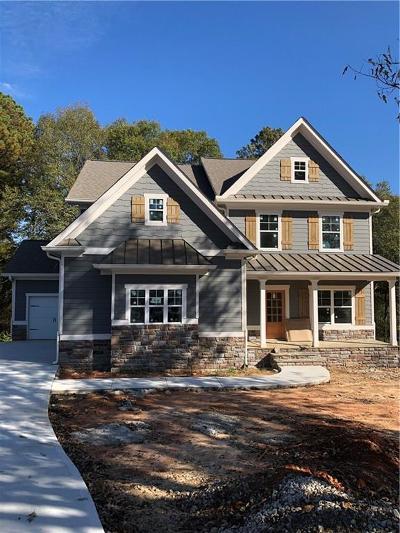 Loganville Single Family Home For Sale: 3322 Oak Grove Road