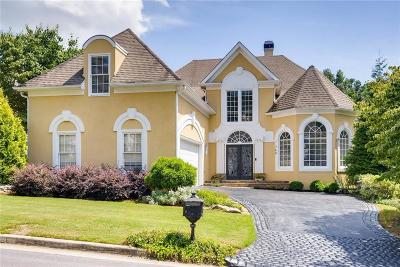 Alpharetta Single Family Home For Sale: 760 Olde Clubs Drive