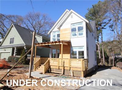 Atlanta Single Family Home For Sale: 1665 Laurel Avenue NW
