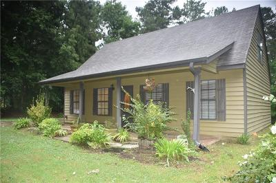 Flowery Branch Single Family Home For Sale: 6329 Spout Springs Road
