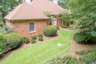 Marietta Single Family Home For Sale: 780 Burning Tree Drive SE