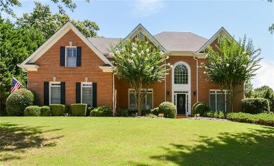 Roswell Single Family Home For Sale: 6055 Tangletree Drive