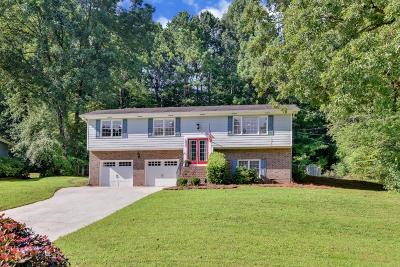 Lilburn Single Family Home For Sale: 5872 Covered Wagon Trail SW