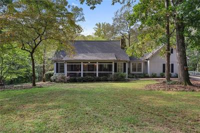 Cumming Single Family Home For Sale: 6780 Millwood Road