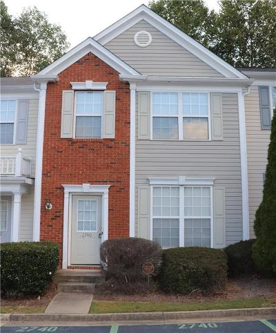 Alpharetta  Condo/Townhouse For Sale: 2740 Ashleigh Lane