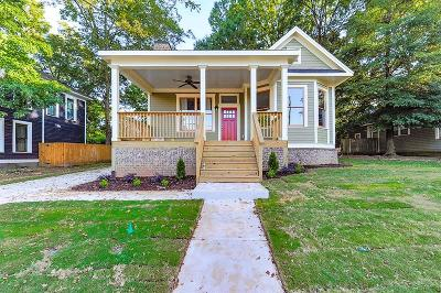 Atlanta Single Family Home For Sale: 844 Beecher Street SW