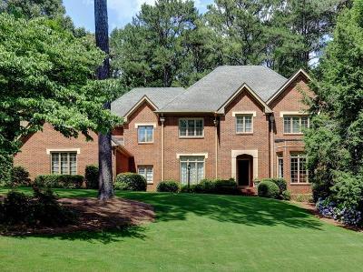 Marietta Single Family Home For Sale: 110 Hampton Walk