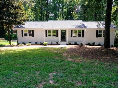 Smyrna Single Family Home For Sale: 4185 Fawn Lane SE