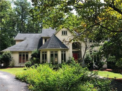 Single Family Home For Sale: 338 N Peachtree Parkway