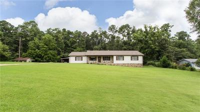Lawrenceville Single Family Home For Sale: 50 Maranatha Trail