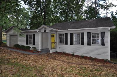 Decatur Single Family Home For Sale: 2808 Eastwood Drive