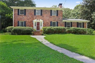 Sandy Springs Single Family Home For Sale: 6570 Wright Road