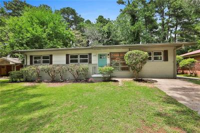 Decatur Single Family Home For Sale: 3080 Santa Monica Drive