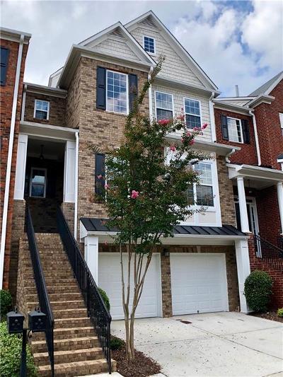 Atlanta Condo/Townhouse For Sale: 3045 Woodwalk Drive SE #18