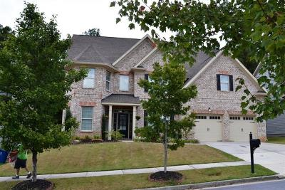 Dacula Single Family Home For Sale: 3156 Dolostone Way