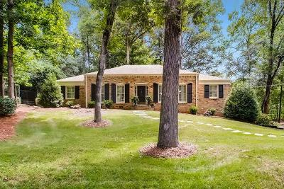 Single Family Home For Sale: 2997 Margaret Mitchell Court NW