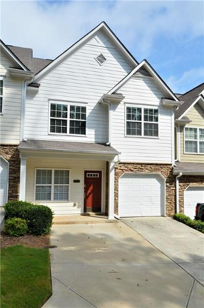 Kennesaw Condo/Townhouse For Sale: 2225 Hoskin Court NW