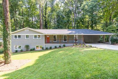 Atlanta Single Family Home For Sale: 2814 Overlook Drive NE