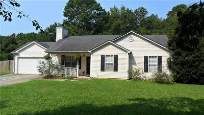Loganville Single Family Home For Sale: 3914 McCullers Road