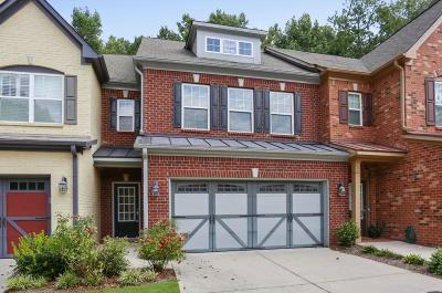 Alpharetta Condo/Townhouse For Sale: 325 Snowgoose Court