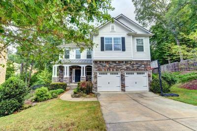 Suwanee Single Family Home For Sale: 4015 Dalwood Drive