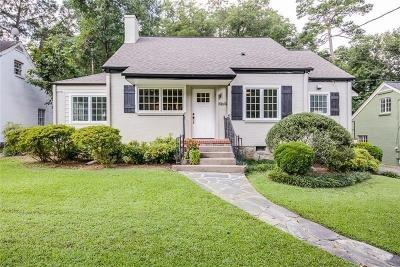 Atlanta Single Family Home For Sale: 1969 N Decatur Road NE