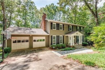 Cumming Single Family Home For Sale: 5795 Cherokee Trace