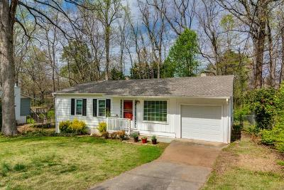 Smyrna Single Family Home For Sale: 1815 Mackinaw Place